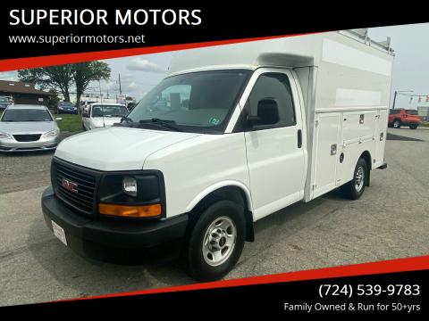 2016 GMC Savana Cutaway for sale at SUPERIOR MOTORS in Latrobe PA