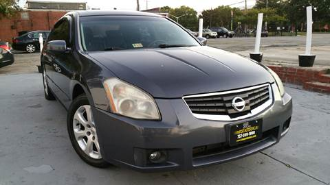 2008 Nissan Maxima for sale at SL Import Motors in Newport News VA