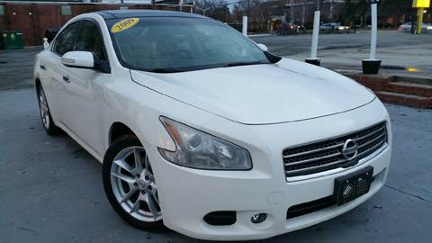 2009 Nissan Maxima for sale at SL Import Motors in Newport News VA