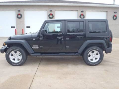 2018 Jeep Wrangler Unlimited for sale in St Bonifacius, MN