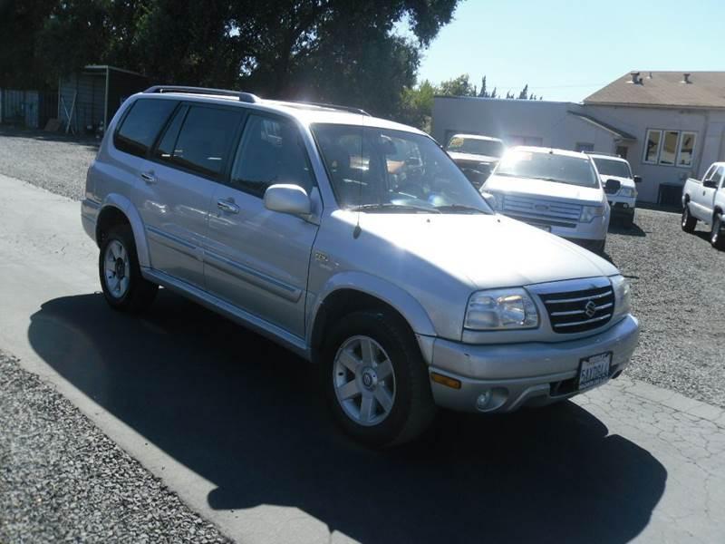 2003 Suzuki XL7 for sale at Manzanita Car Sales in Gridley CA