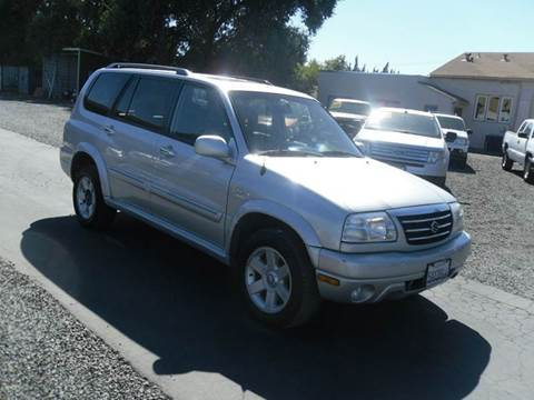 2003 Suzuki XL7 for sale at Manzanita Car Sales in Gridley CA