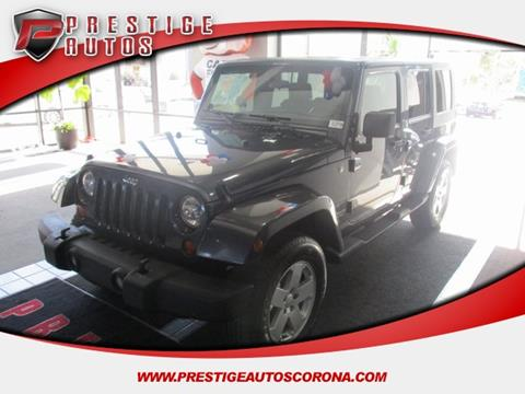 2007 Jeep Wrangler Unlimited for sale in Corona, CA