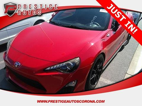 2014 Scion FR-S for sale in Corona, CA