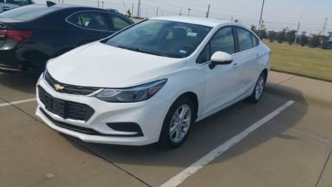 2017 Chevrolet Cruze for sale in Longview, TX