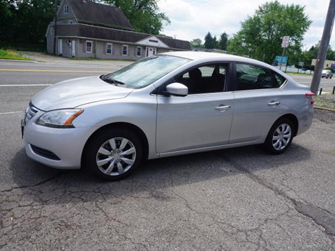 2014 Nissan Sentra for sale at Colonial Motors in Mine Hill NJ