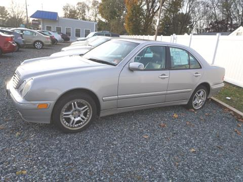 2002 Mercedes-Benz E-Class for sale at Colonial Motors in Mine Hill NJ