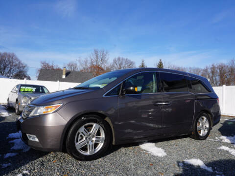 2011 Honda Odyssey for sale at Colonial Motors in Mine Hill NJ