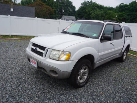 2001 Ford Explorer Sport Trac for sale at Colonial Motors in Mine Hill NJ