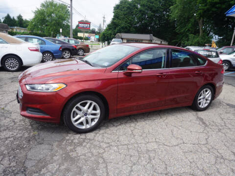 2014 Ford Fusion for sale at Colonial Motors in Mine Hill NJ