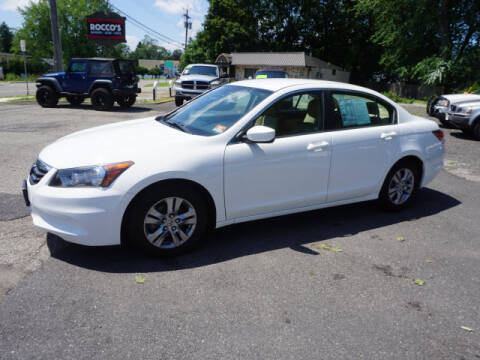 2011 Honda Accord for sale at Colonial Motors in Mine Hill NJ