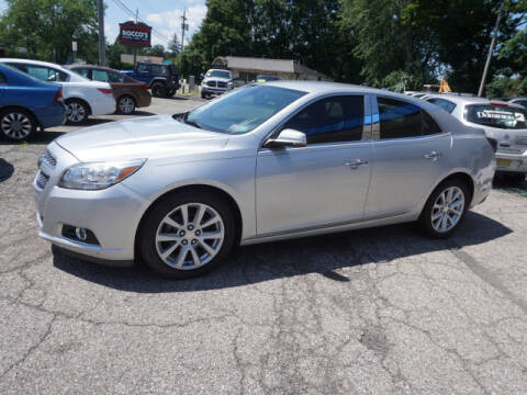 2013 Chevrolet Malibu for sale at Colonial Motors in Mine Hill NJ