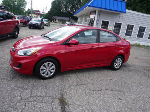 2015 Hyundai Accent for sale at Colonial Motors in Mine Hill NJ