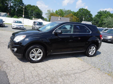 2010 Chevrolet Equinox for sale at Colonial Motors in Mine Hill NJ
