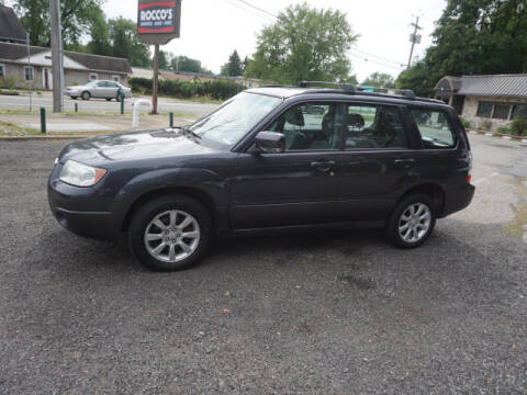2008 Subaru Forester for sale at Colonial Motors in Mine Hill NJ