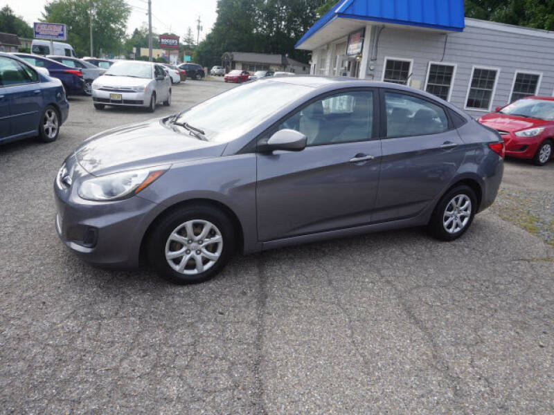 2014 Hyundai Accent for sale at Colonial Motors in Mine Hill NJ