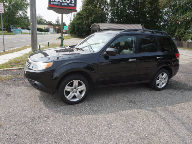 2009 Subaru Forester for sale at Colonial Motors in Mine Hill NJ
