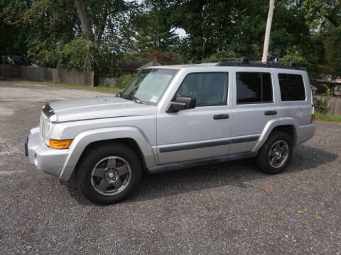2006 Jeep Commander for sale at Colonial Motors in Mine Hill NJ