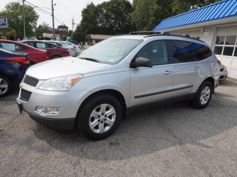2012 Chevrolet Traverse for sale at Colonial Motors in Mine Hill NJ