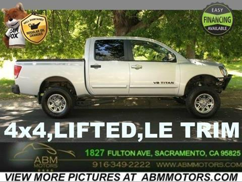 2007 Nissan Titan for sale in Sacramento CA