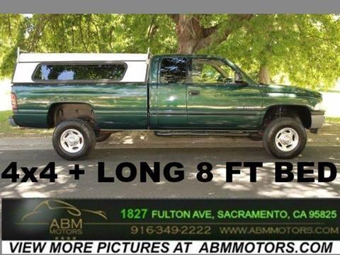 2001 Dodge Ram Pickup 2500 for sale in Sacramento CA