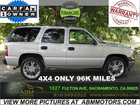 2006 Chevrolet Tahoe for sale in Sacramento CA