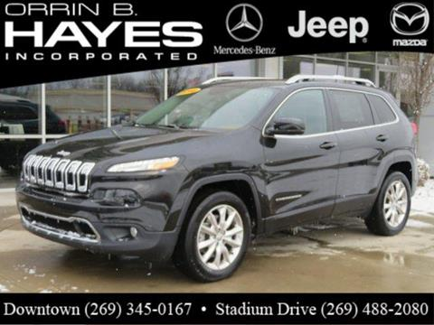 Hayes Jeep Kalamazoo Mi >> Jeep Cherokee For Sale in Kalamazoo, MI - Carsforsale.com