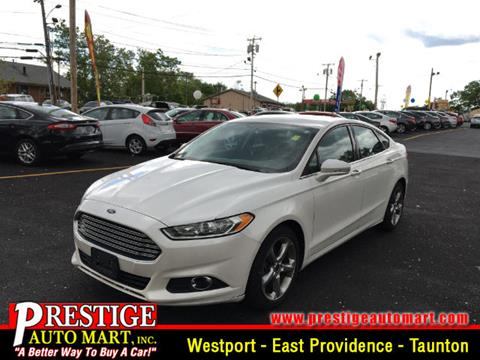 2013 Ford Fusion for sale in Taunton, MA