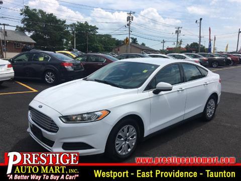 2014 Ford Fusion for sale in Taunton, MA