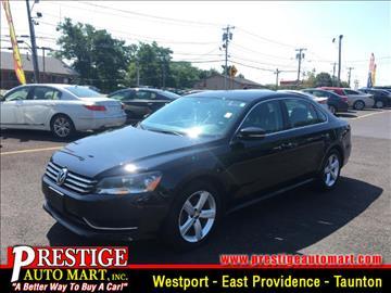 2014 Volkswagen Passat for sale in Taunton, MA