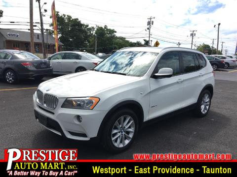 2013 BMW X3 for sale in Taunton, MA