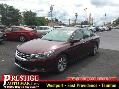 2014 Honda Accord for sale in Taunton MA