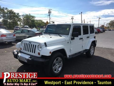 2012 Jeep Wrangler Unlimited for sale in Taunton, MA