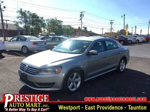 2013 Volkswagen Passat for sale in Taunton, MA