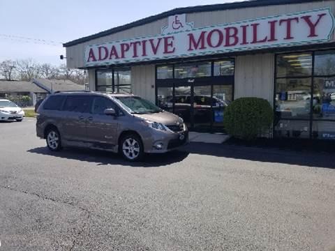 2012 Toyota Sienna for sale in Seekonk, MA
