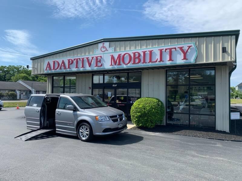 2014 Dodge Grand Caravan for sale at Adaptive Mobility Wheelchair Vans in Seekonk MA
