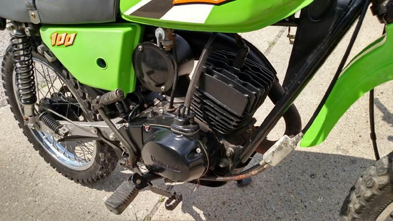 1999 Kawasaki KE100  - Reynolds IN