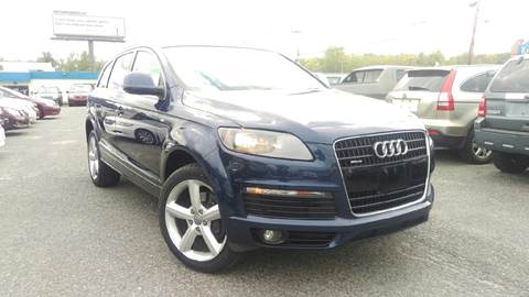 2009 Audi Q7 for sale at Mass Motors LLC in Worcester MA