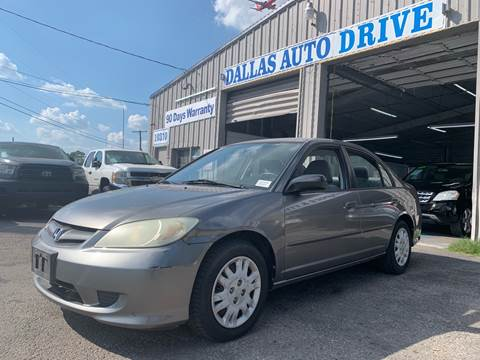 2004 Honda Civic for sale in Dallas, TX