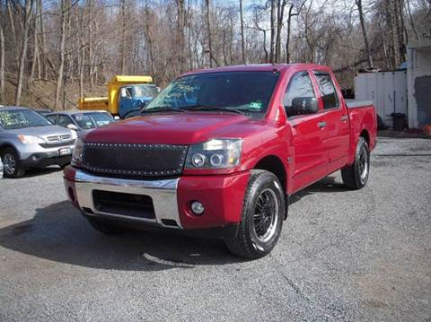 2004 Nissan Titan for sale at Preferred Motor Cars of New Jersey in Keyport NJ