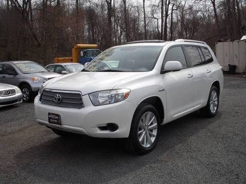 2008 Toyota Highlander Hybrid for sale at Preferred Motor Cars of New Jersey in Keyport NJ