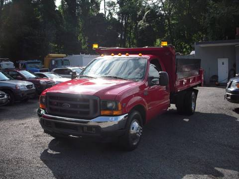 1999 Ford F-350 MASON DUMP for sale at Preferred Motor Cars of New Jersey in Keyport NJ