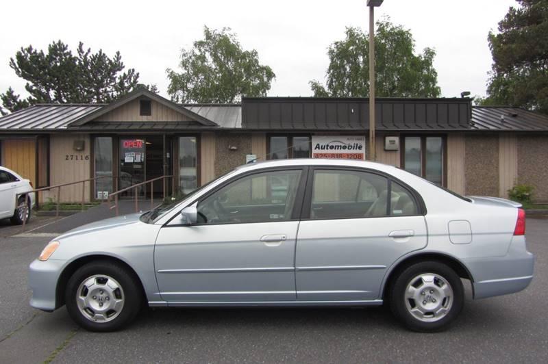 2003 Honda Civic Hybrid 4dr Sedan - Stanwood WA