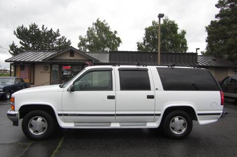 1998 Chevrolet Suburban for sale in Stanwood, WA