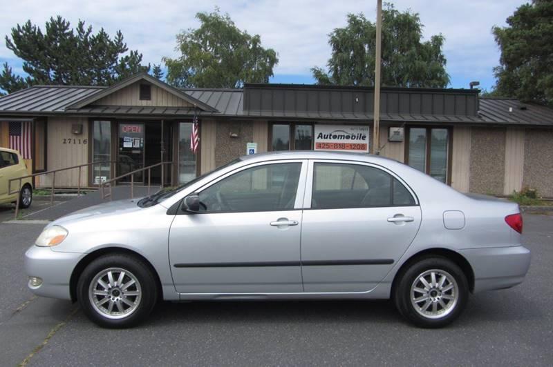 2005 Toyota Corolla CE 4dr Sedan   Stanwood WA