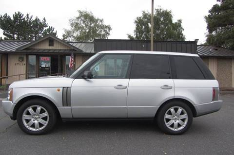 2004 Land Rover Range Rover for sale in Stanwood, WA