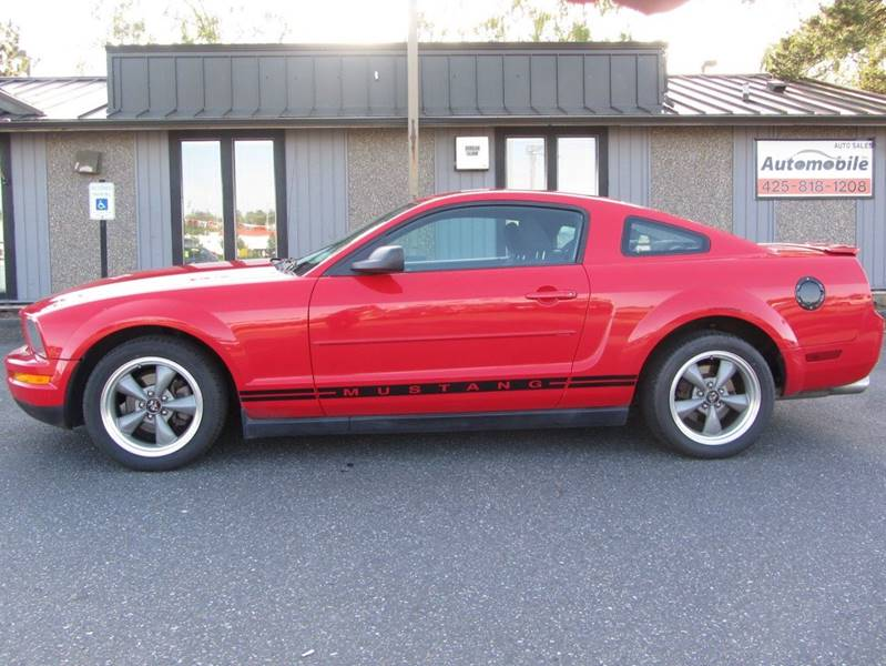 2008 Ford Mustang V6 >> 2008 Ford Mustang V6 Deluxe 2dr Fastback In Stanwood Wa