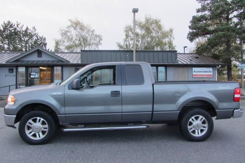 2008 Ford F 150 4x4 Xlt 4dr Supercab Styleside 6 5 Ft Sb In Stanwood Wa Automobile Inc