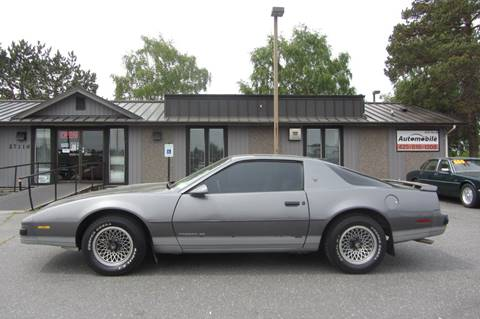 1986 Pontiac Firebird for sale in Stanwood, WA