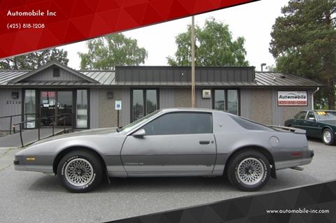 1986 Pontiac Firebird for sale in Stanwood, WA